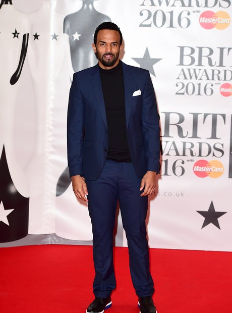 Craig David Red Carpet Arrivals Brit Awards 2016