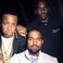 Image 4: Kanye West stood with Yo Gotti and Pusha T