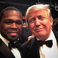 Image 6: 50 cent and Donald Trump