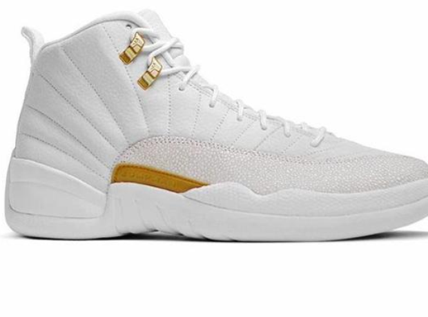 8dc63289a077 Drake s OVO Sound collaboration with Nike Air Jordan s (white).