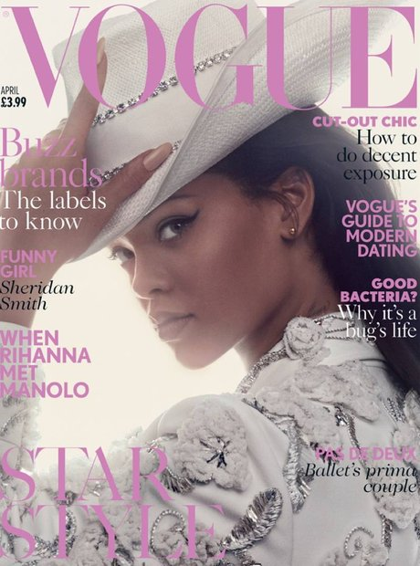 Rihanna British Vogue 2016