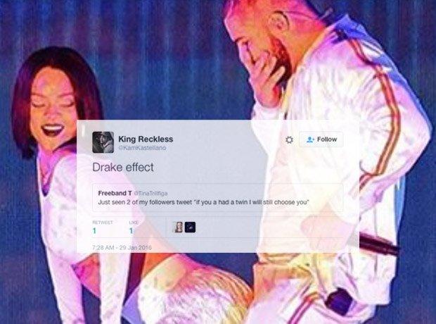 Drake and Rihanna at BRITs