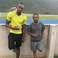 Image 8: Kendrick Lamar and Usain Bolt at running track