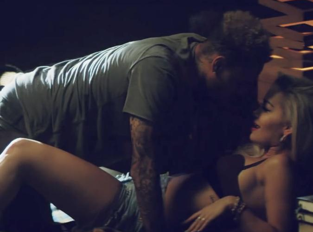 Rita Ora and Chris Brown getting close