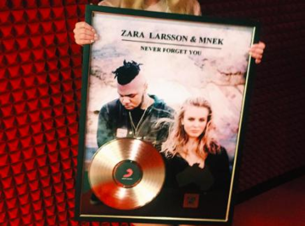 Zara Larsson Gold