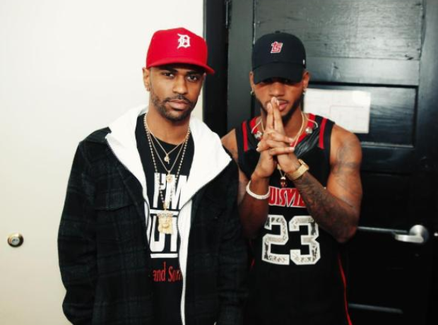 Big Sean with Bryson Tiller backstage