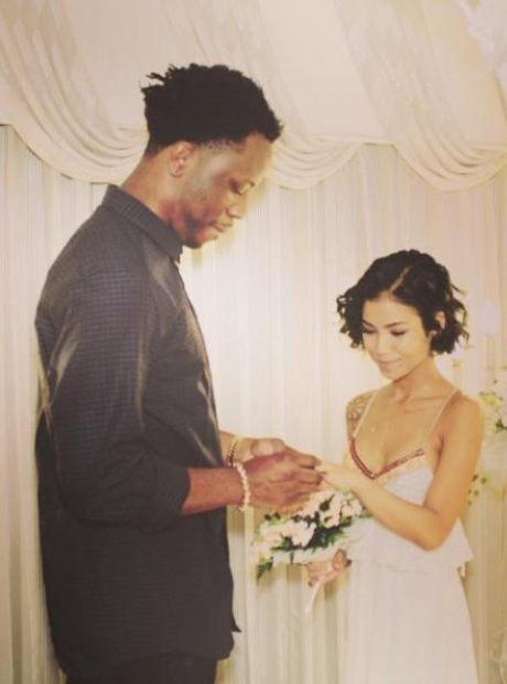 Jhene Aiko and Dot Da Genius wedding