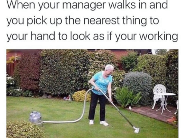Manager meme