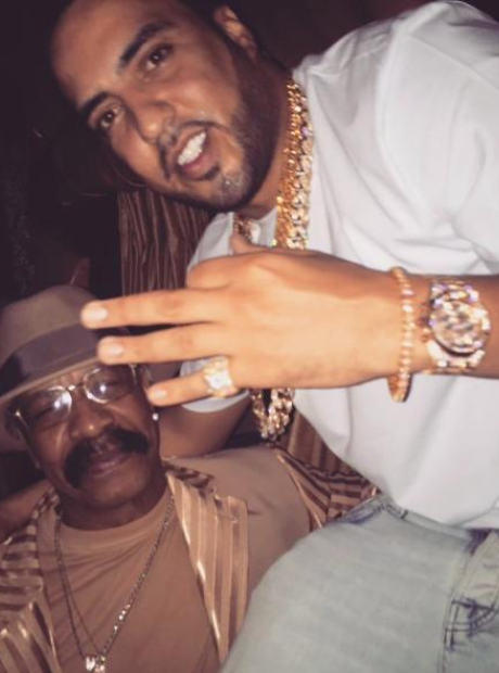 Drake's Dad French Montana