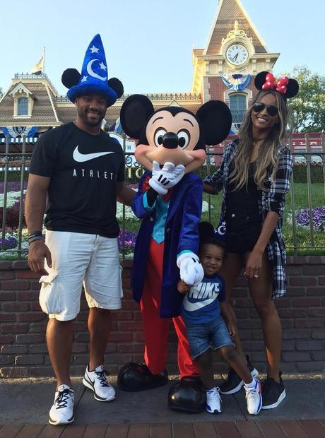 Russell Wilson, Ciara Disneyland