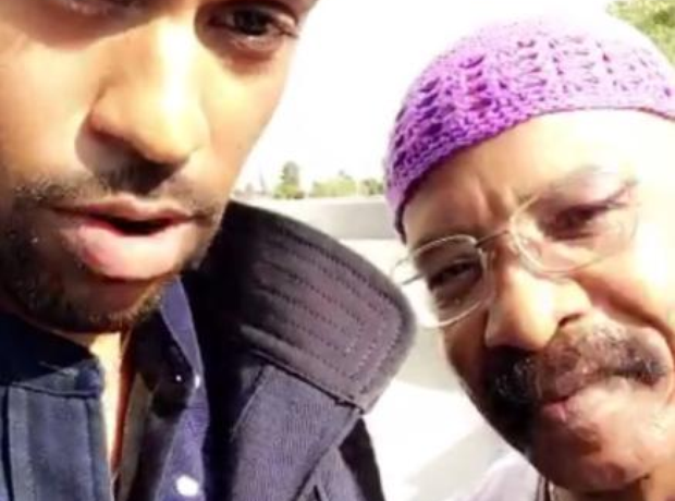 Big Sean and Drake Dad