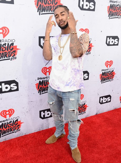 Omarion iHeartRadio 2016 Red Carpet