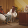 Image 10: Big Sean and Jhene Aiko sat on chairs