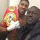 Image 7: Stormzy with Anthony Joshua