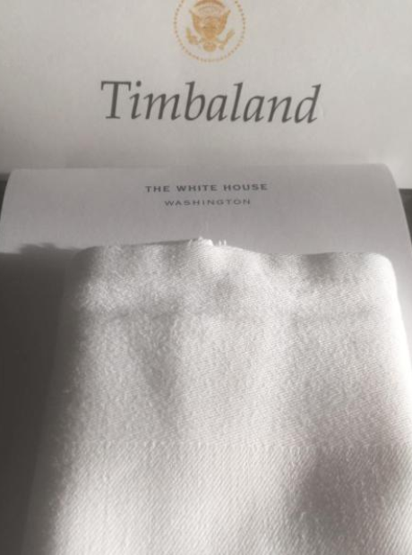 Timbaland White House invitation