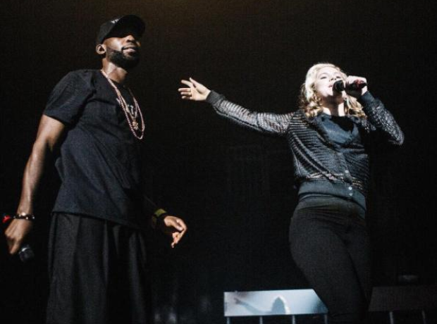 Tinie Tempah and Katy B on stage