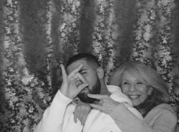 Drake with his Mum