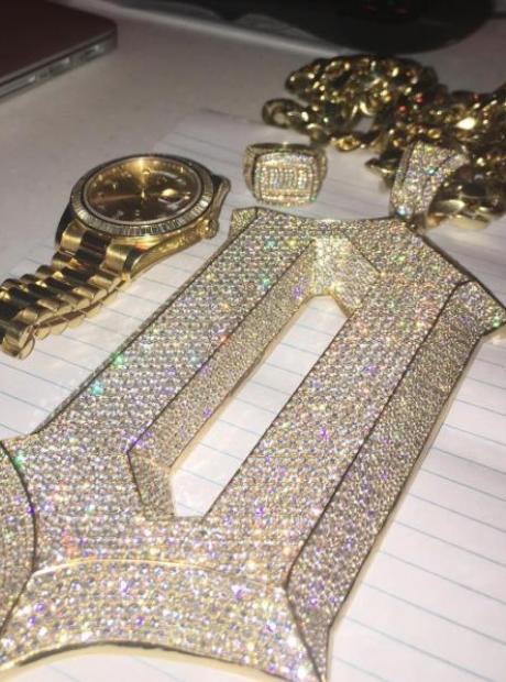 Drake OVO Chain