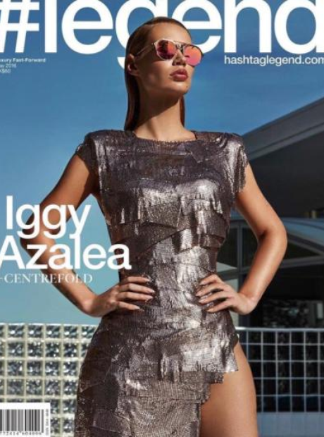 Iggy Azalea Legend Magazine cover