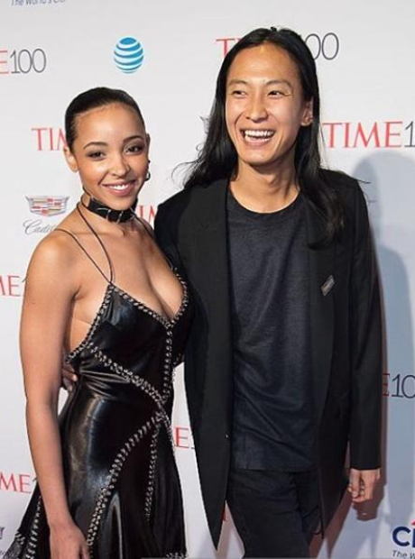 Tinashe and Alexander Wang