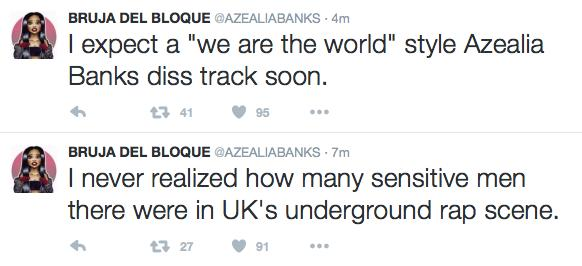 Azealia Banks UK Rap Rant