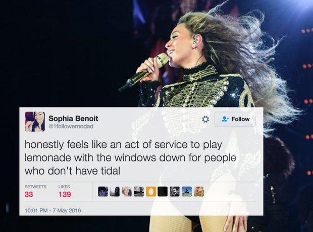 Beyonce fan problems