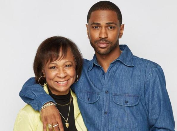 Big Sean and his Mother