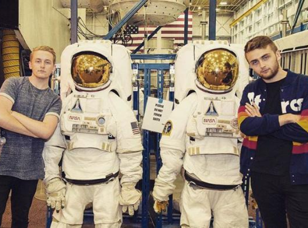 Disclosure with astronauts