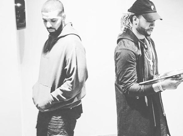Drake and PartyNextDoor