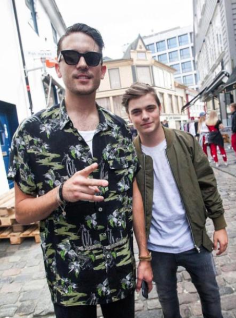 G Eazy and Martin Garrix