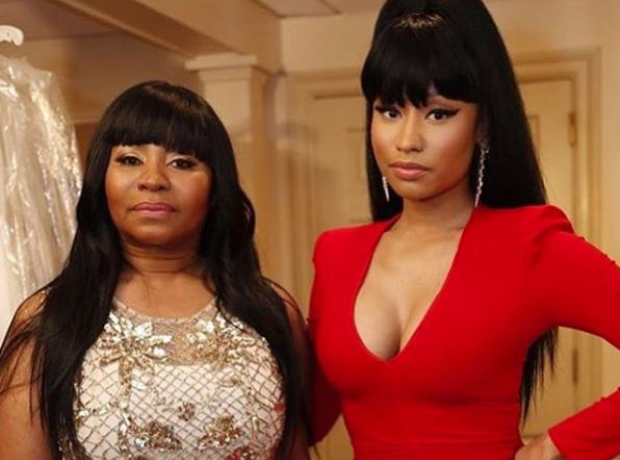 Nicki Minaj and Mother