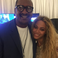 Image 2: Beyonce and her Dad backstage