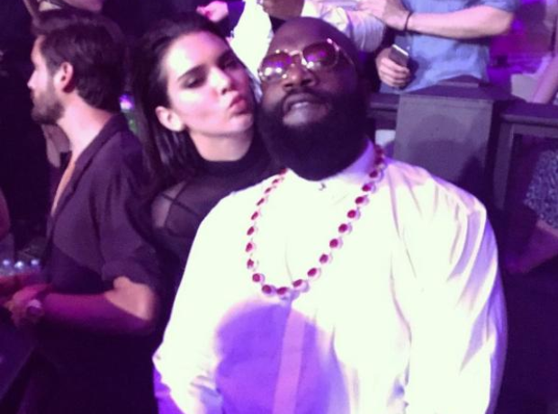 Kendall Jenner and Rick Ross