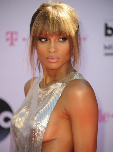 Ciara on the red carpet