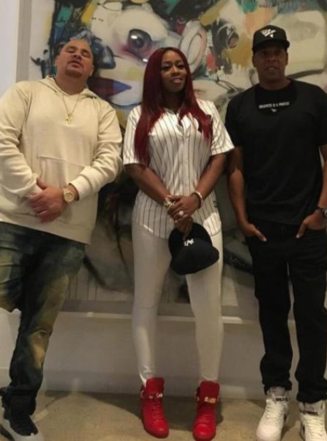 Jay Z and Fat Joe and Remy Ma