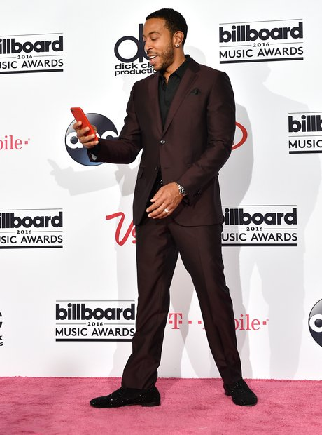 Ludacris on the red carpet