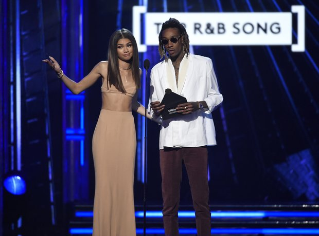 Zendaya Wiz Khalifa Billboard Music Awards 2016