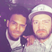 Image 5: Chris Brown and Justin Timberlake