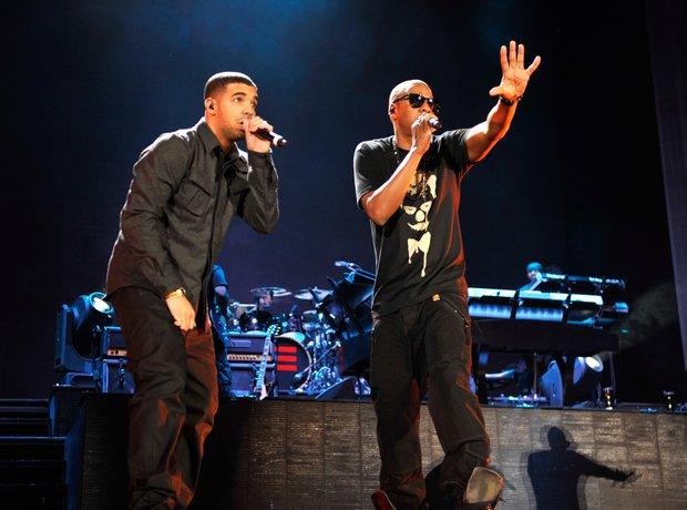 Drake and Jay Z