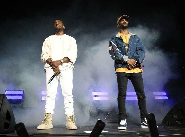 Kanye West and Big Sean