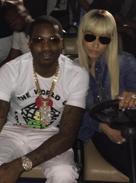 Nicki Minaj and Meek Mill