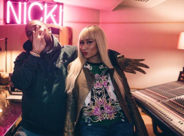 Nicki Minaj and DJ Mustard