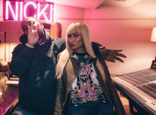 Nicki Minaj and DJ Mustard