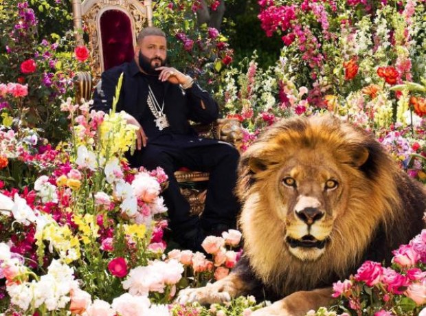 DJ Khaled major key artwork