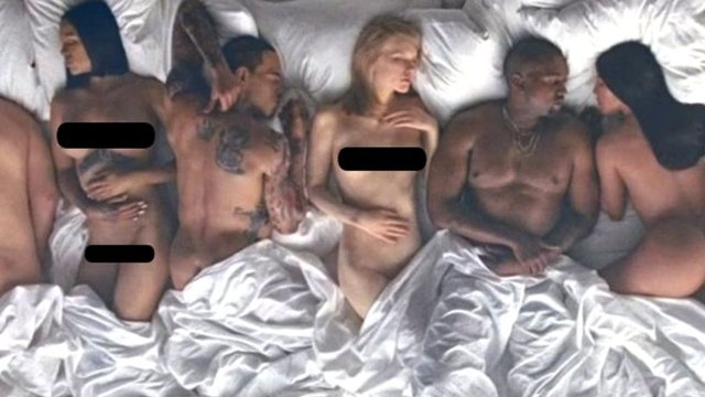 Kanye Wests Famous Video Is Now Available To Watch On -7887
