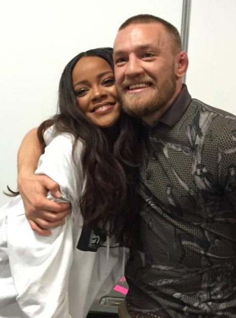 Rihanna Connor McGregor