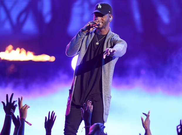 Bryson Tiller at the BET Awards 2016