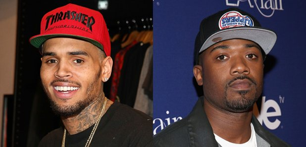 Chris Brown And Ray J React To Appearing Naked In Kanye -7614