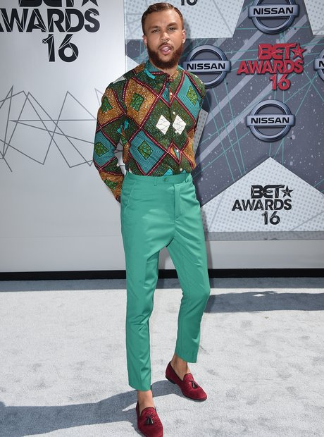 Jidenna at the BET Awards 2016