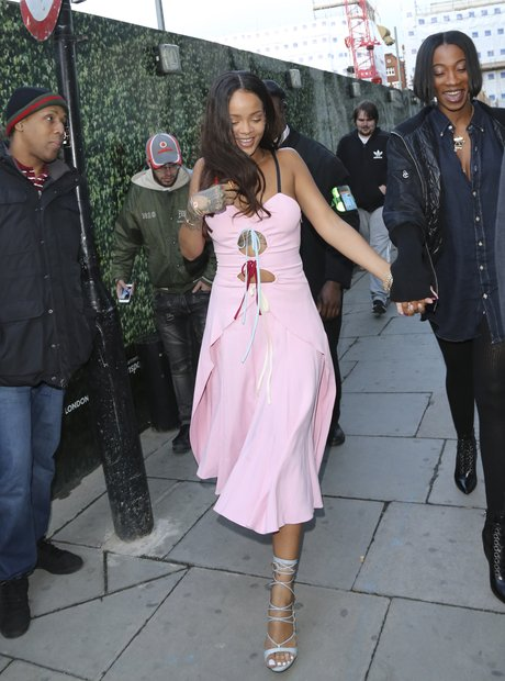 Rihanna and Drake in London